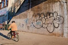 Lewy (mike ion) Tags: nyc newyorkcity ny newyork brooklyn graffiti outline throw lewybtm