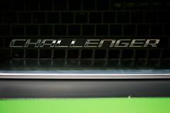Challenger Badge (Joshishi) Tags: auto show chicago green cars illinois dodge rt challenger 2011 105mmf28dmicro