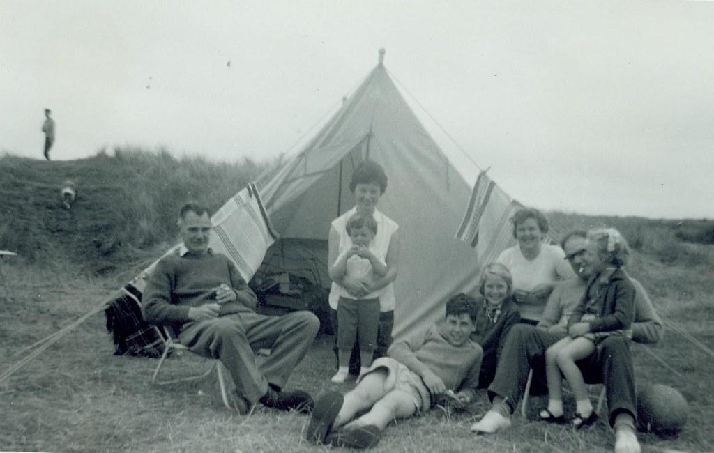 McCreath family Camping at Embo 1964