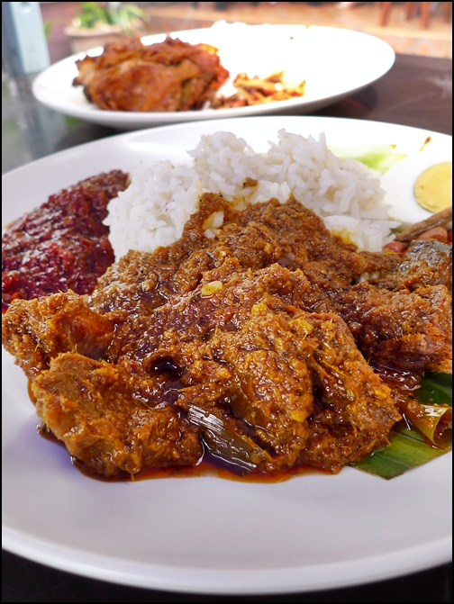 Nasi Lemak with Rendang Daging