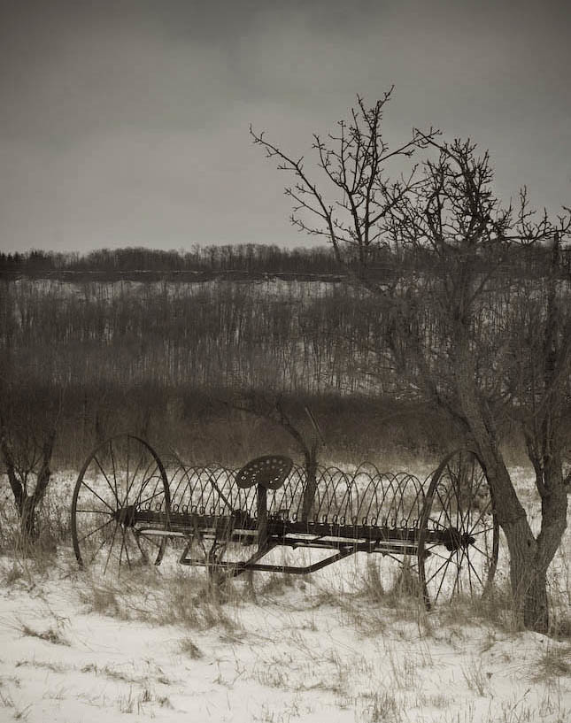 Abandoned Farm Equipment