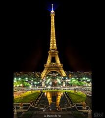 La Dame de Fer (HDR) (farbspiel) Tags: paris france history photoshop logo geotagged nikon frankreich ledefrance tripod eiffeltower