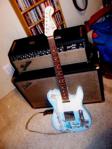 Custom Tele guitar