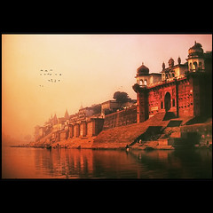 Time stands still ...the Holy Ganges river  at dawn - ZedZap Photos