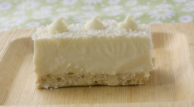 White Chocolate Rice Krispies Bars