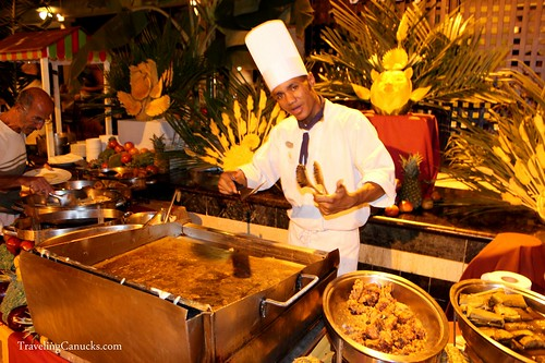 Dominican Food Buffet