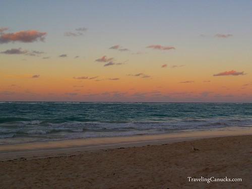 Sunset on the Beach, Punta Cana