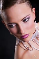 The Necklace (Bob van Ooik) Tags: portrait sexy girl beautiful studio necklace eyes gorgeous sparkle maditadanek