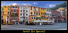 Lerici (Fil.ippo (on vacation)) Tags: houses panorama colors landscape raw liguria case filippo lerici colorate d5000