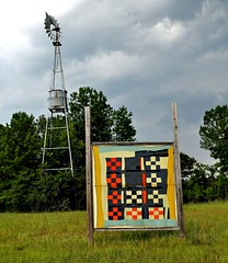 Gee's Bend, AL - The Gee's Bend Quilt Mural Trail (RuralSWAlabama) Tags: travel southwest tourism rural alabama murals quilts attractions blackbelt quilters placestogo geesbend wilcoxcounty