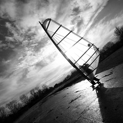 Skater with surf sail (!.Keesssss.!) Tags: road shadow sky people blackandwhite cloud sunlight tree netherlands sport square outdoors photography holding sailing adult dusk skating surfing adventure backlit youngadult tilt adultsonly rollerskating oneperson gettyimages rollerskate royaltyfree onlymen oneyoungmanonly onemanonly 2024years theflickrcollection keessmans 191ksgetty