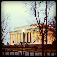 The Lincoln Memorial in Washington, DC. by ObieVIP