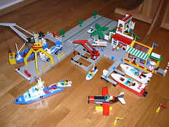 Lego Harbour & Marina (georgivar) Tags: marina lego harbour 6541 6543 6376