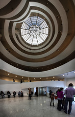 Wow, my bear and I will love this place. Guggenheim Museum, New York City, USA, (Batistini Gaston) Tags: usa newyork franklloydwright guggenheimmuseum batistini vertorama gbatistini canon5dmkii