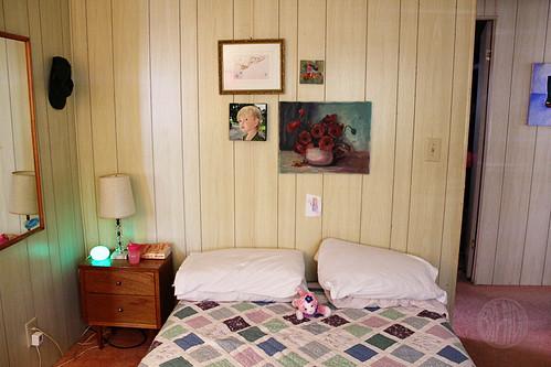 new winter-time bed arrangement