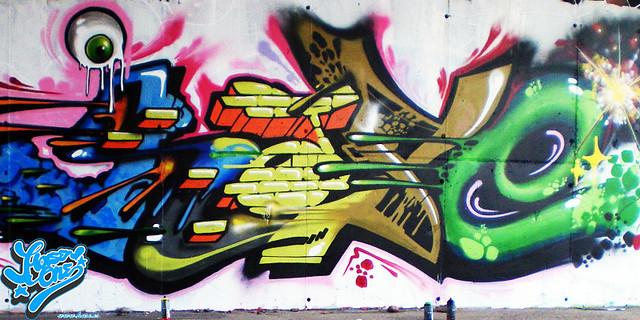 imagenes graffiti hase en benicasim