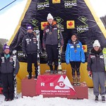 2011 GMC Cup Slalom at Red Mountain Resort - Women's Overall Podium PHOTO CREDIT: Gregor Druzina