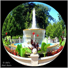 Buffalo NY ~ Butler Mansion ~ Fountain (Onasill ~ Visiting ~ Will Return Comments Soon.) Tags: county new york old white ny apple water fountain architecture digital altered garden buffalo imac district arts style landmark historic architect ave butler western classical georgian years neo 100 mansion delaware erie mead 1001nights avenue processed rendered attraction sanford apps revival adaptive reused beaux mckim ipad nrhp photogene onasill