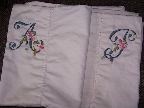 His and Her Petal Pillowcases