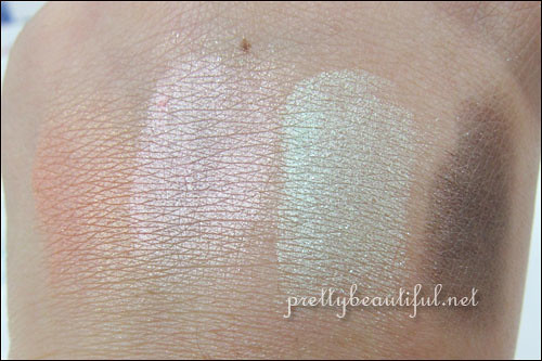 Laneige Fresh Modernist Shadow Swatch
