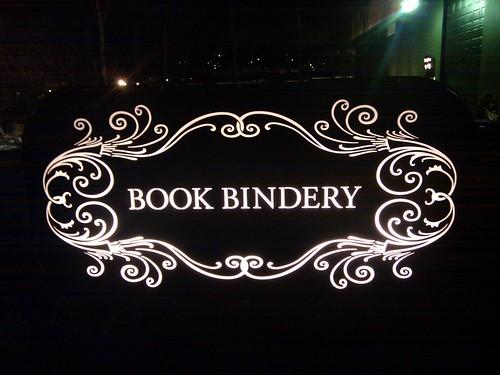 Book bindery