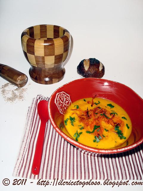 Zuppa di carote al succo di arancia (1)