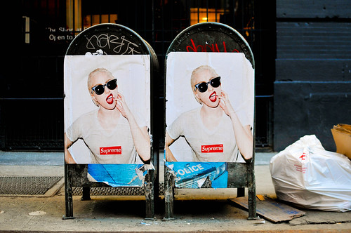 Supreme x Lady Gaga