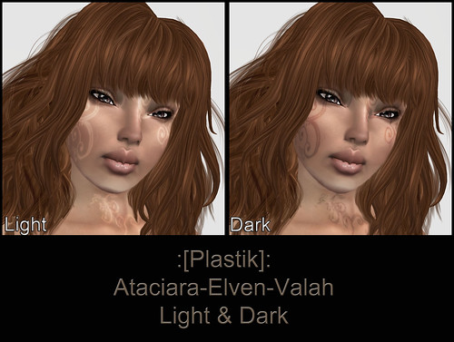[Plastik] Ataciara-Elven-Valah-Light & Dark