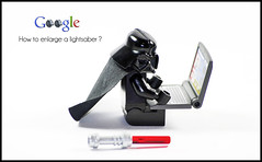 More lightsaber, please... (Artamir ) Tags: toy actionfigure starwars google pentax figurines figure lightsaber darthvader jouets jugete darkvador figurilla k20d justpentax