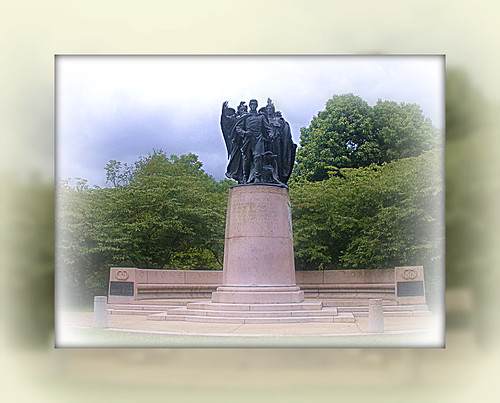 Union Soldier and Sailers Memorial Baltimore Maryland by litlesam