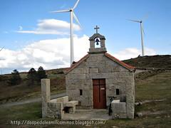 ermita de Santa Mariña ( monte Seixo )