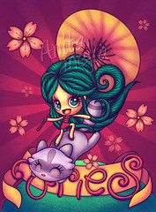 Aries, TU Magazine (Anita Mejia) Tags: illustration zodiac horoscope aries chocolatita anitameja tumagazine