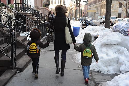 Amanda with Kids