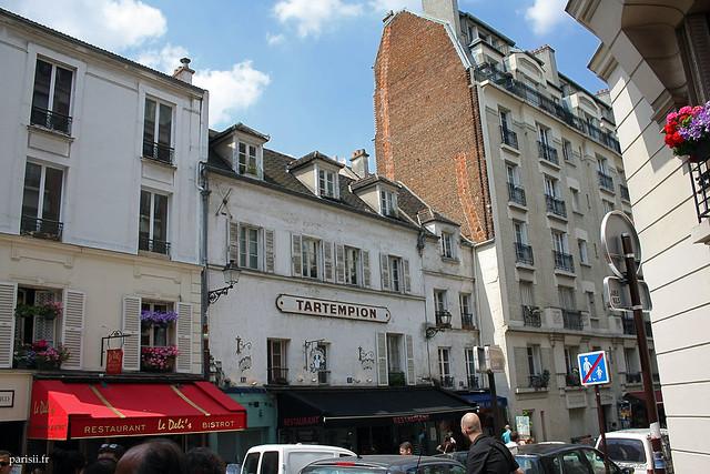Montmartre regorge de nombreux restaurants