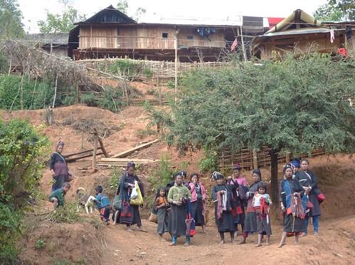 Kengtung - Village Eng-Le village (7)
