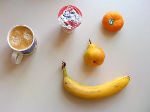 Zott Sahne Joghurt, Clementine, Birne & Banane
