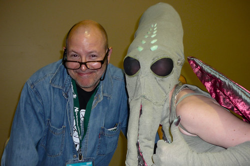 Emerald City ComiCon - Lady Cthulhu meets Mike Mignola