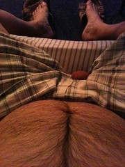 Me n my holy pjs (I.E. Bear II) Tags: hairy man guy me beer happy gut furry dude belly trail bubba nut beerbelly chubby thick gordo bellies panza testicle happytrail panzon pansa stocky panson