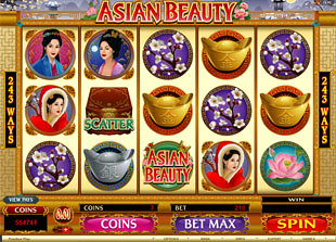 Asian Beauty slot machine
