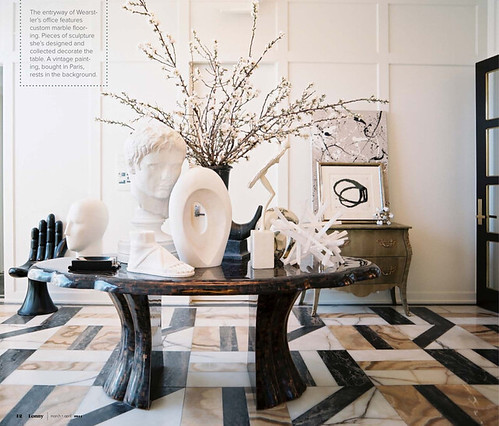 1_LonnyMagazine_1_Kelly Wearstler Fabulous Entry Way, Interior Design, Home Ideas