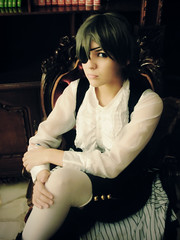 My Master (Sid_arthur) Tags: 2 anime art america dark photography ecuador cosplay manga lord master ciel ii latin claude cosplayer alois guayaquil demons cosplayers faustus kodona trancy kuroshitsuji sidarthur pahntomhive monoshitsuji