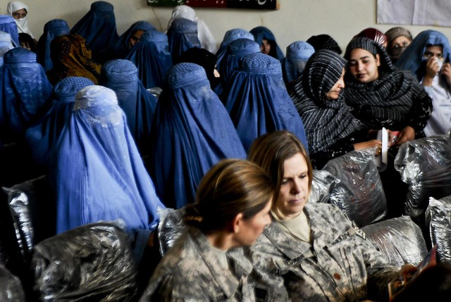 PRT, ADT women help celebrate Women's Day in Kunar [Image 3 of 3]