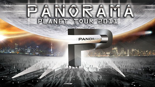Panorama 2011 - orquesta - cartel Planet Tour