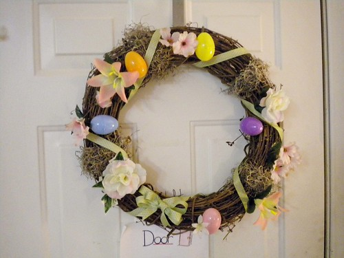 My Easter Wreath Finished