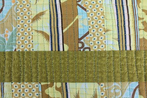 Scrap Mini Quilt Detail 1