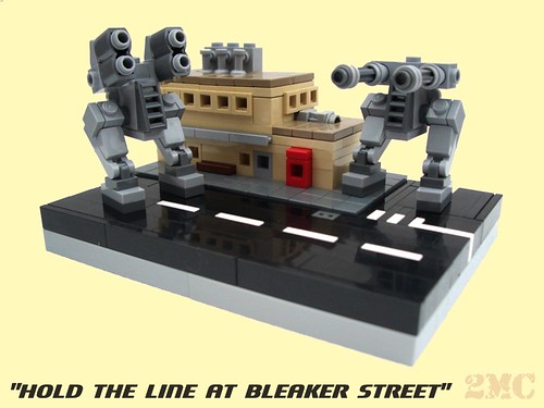 """Hold the line at Bleaker Street"""