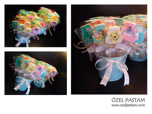 Mehmet Sezgin 1 Yaş Winnie The Pooh Kurabiyeleri / Winnie The Pooh Cookies
