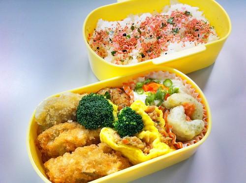 今日のお弁当 No. 127 – 明太子