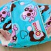 Cocoa Skulls One-Size Fitted Diaper