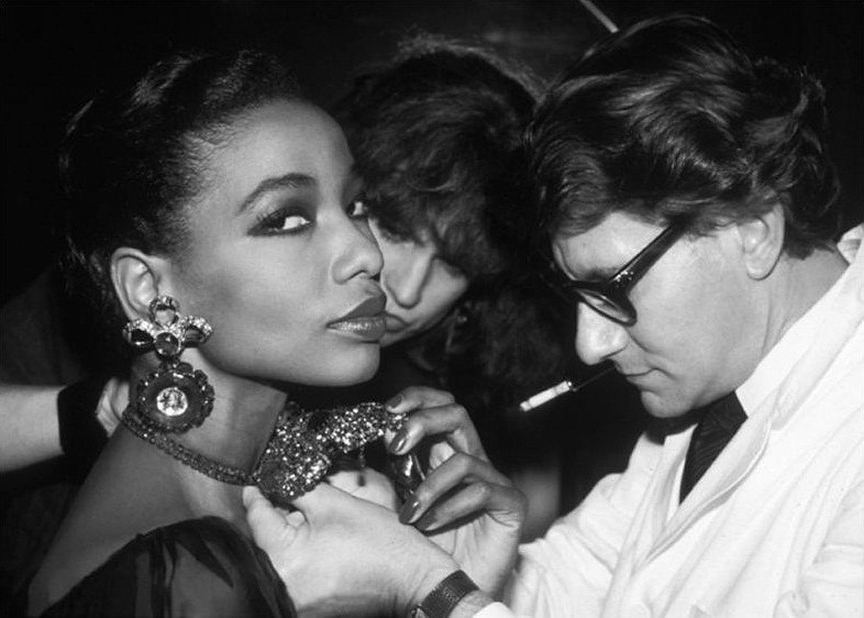 YSL by Dustin Pittman  3  - at atelier, 1983